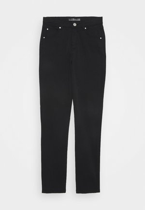 JUNIOR SKINNY CORE - Spodnie materiałowe - jet black