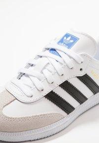 adidas Originals - SAMBA - Zapatillas - footwear white/core black/crystal white - 2