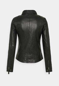 Oakwood - HOLA - Leather jacket - black - 1