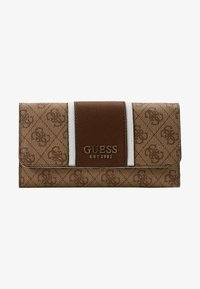 Guess - CATHLEEN POCKET TRIFOLD - Wallet - brown - 4