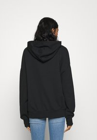 Even&Odd - LONG OVERSIZED HOODIE - Hoodie - multicoloured/black - 2
