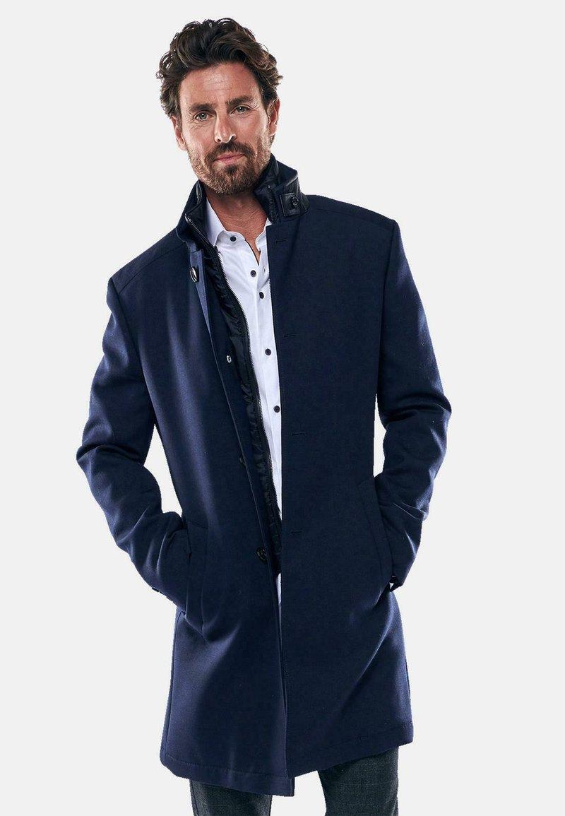 Engbers - Classic coat - blau