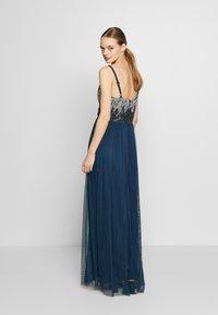 Lace & Beads - CELIA MAXI - Suknia balowa - navy - 2