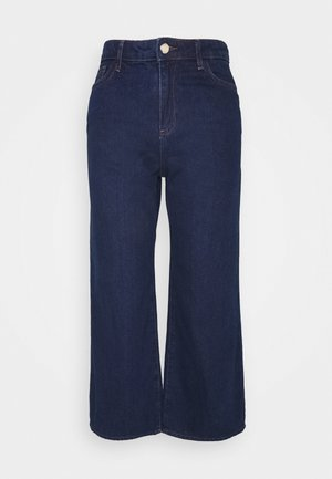 ONLSONNY  WIDE LIFE - Flared jeans - medium blue denim