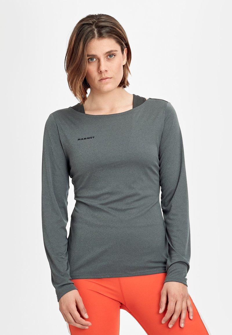 Mammut - LONGSLEEVE - Sports shirt - phantom melange