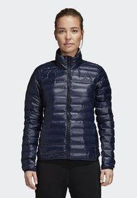 adidas Performance - VARILITE OUTDOOR DOWN - Winter jacket - dark blue - 0