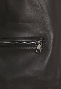 Tommy Hilfiger - VARSITY - Leather jacket - black - 2