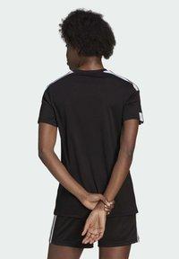 adidas Performance - SQUADRA 21 - Camiseta estampada - black/white - 1