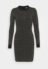 MICHAEL Michael Kors - DOT MINI DRESS - Pouzdrové šaty - concrete - 5