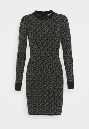 DOT MINI DRESS - Etui-jurk - concrete