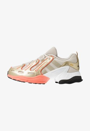 EQT GAZELLE - Matalavartiset tennarit - clear brown/raw gold/semi coral