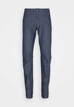 WAYFARER ALPINE - Outdoor trousers - mood indigo/white