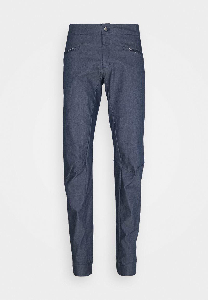 Salomon - WAYFARER ALPINE - Outdoor trousers - mood indigo/white