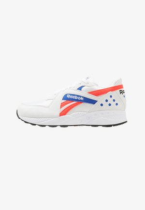 PYRO - Trainers - white/neon red/cobalt