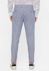 WE Fashion - MIT HAHNENTRITTM - Pantalon - blue - 2