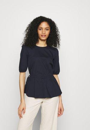 BLOUSE - Print T-shirt - dark blue