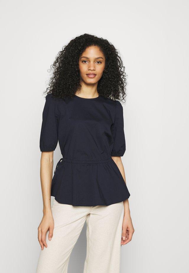 BLOUSE - T-shirts med print - dark blue