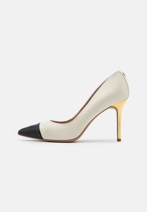 LINDELLA - Zapatos altos - vanilla/black