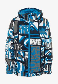 Quiksilver - MISSION - Snowboardová bunda - brilliant blue - 0