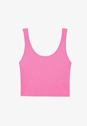 CROPPED - Top - neon pink