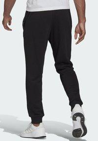 adidas Performance - SL ESSENTIALS SPORTS FRENCH TERRY PANTS - Pantaloni sportivi - black - 1