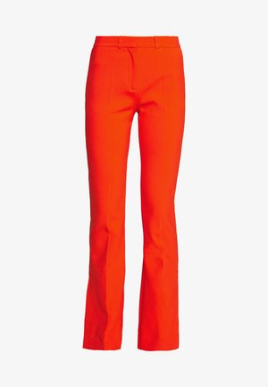 SPLIT HEM VICTORIA TROUSER - Trousers - flame red