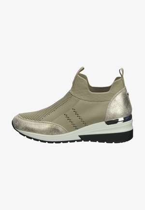 Sneakers laag - knitted sand