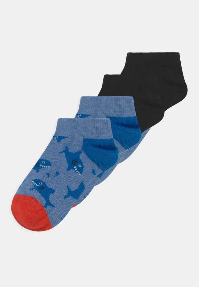 SHARK 4 PACK UNISEX  - Socks - multicoloured
