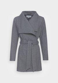 VILA PETITE - VIMOCCA BELT COAT - Short coat - grey - 3