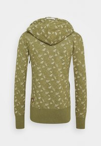 Ragwear - BEATER ZIP ORGANIC - Zip-up hoodie - green - 1