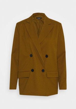 OVERSIZE BLAZER - Krátký kabát - brown