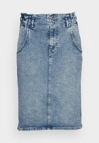 ONLY Tall - ONLINC MILLIE ELAS WAISTBAND REA  - Jeansrok - light blue denim - 3
