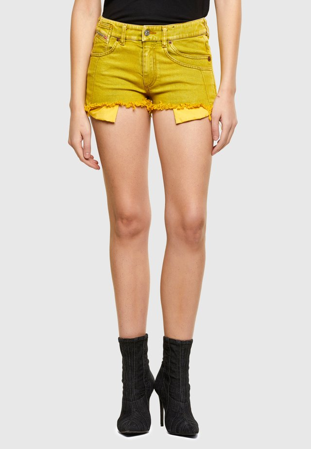 BATY - Shorts di jeans - yellow