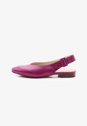 Slingback ballet pumps - lilac