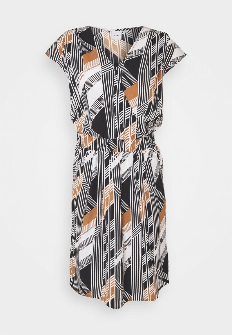 ICHI - BRUCE - Day dress - black print