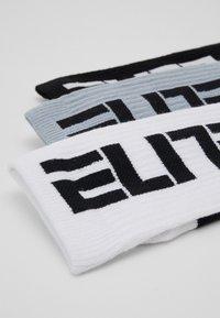Nike Performance - ELITE CREW 3 PACK - Calcetines de deporte - black/white - 1