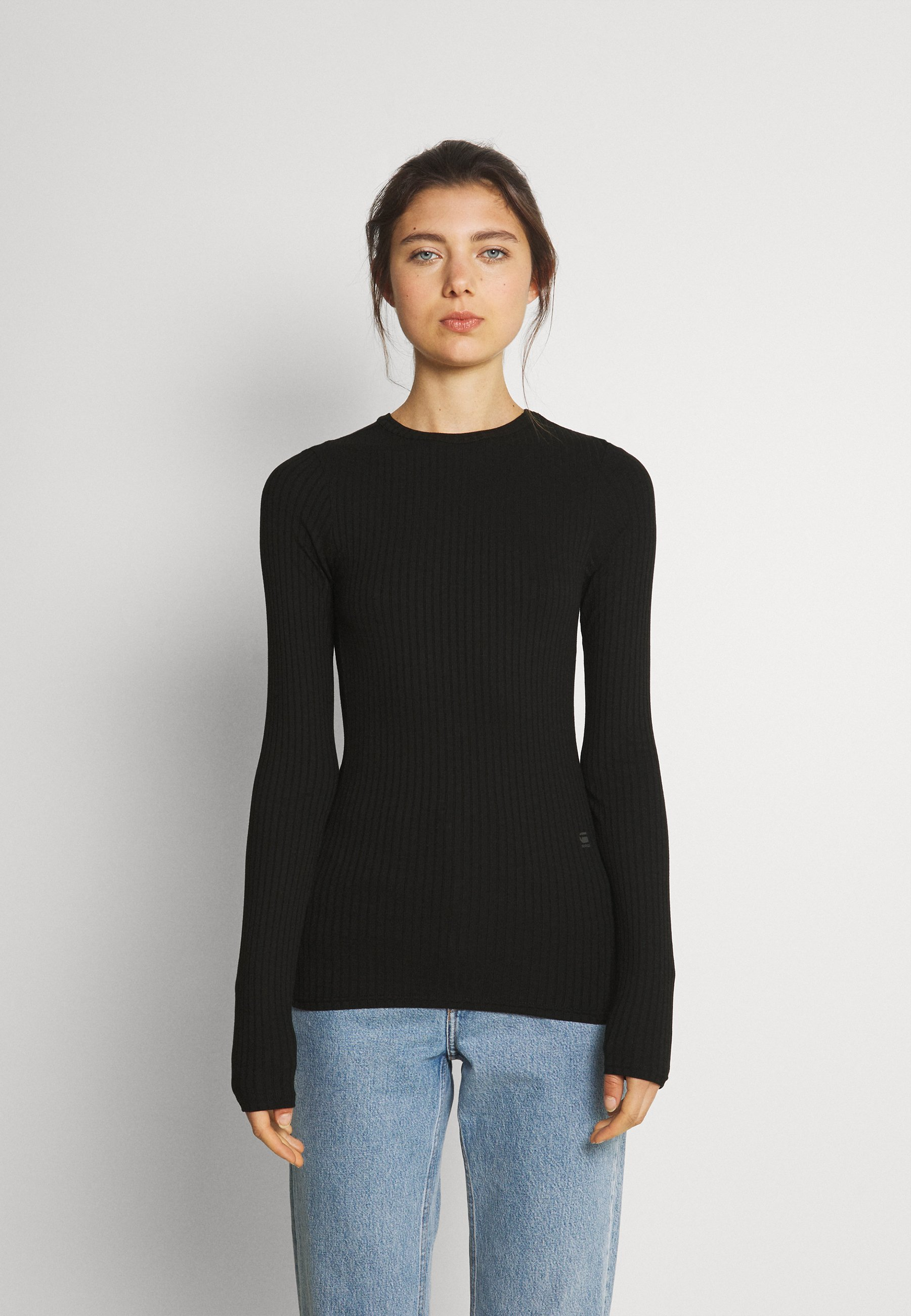 Donna SLIM RIB LONGSLEEVE - Maglietta a manica lunga
