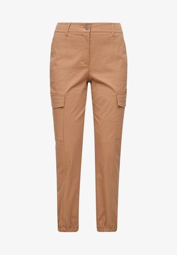 Cargo trousers - caramel