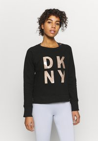 DKNY - STACKED LOGO  - Sweatshirt - black - 0