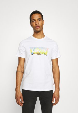 HOUSEMARK GRAPHIC TEE - T-shirt imprimé -  white