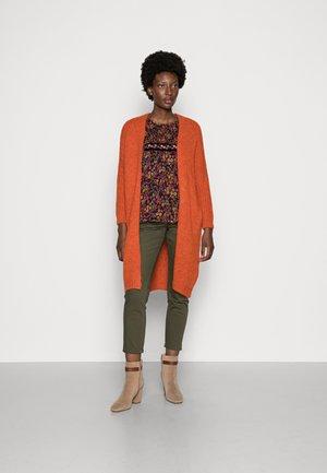 CARDIGAN - Vest - orange flame