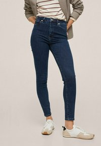Mango - Jeans Skinny Fit - dark blue - 0