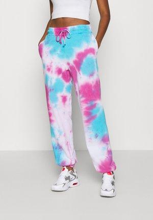 TIE DYE PRINT JOGGERS - Pantalones deportivos - multi