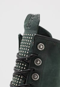 A.S.98 - Lace-up ankle boots - balsamic - 2
