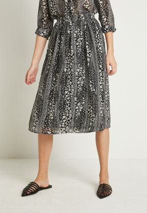 IHETTY - A-line skirt - black