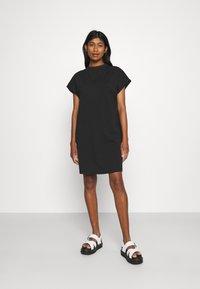 Noisy May - NMHAILEY DRESS - Jersey dress - black - 0