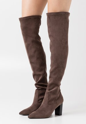 MAGDALENA - Over-the-knee boots - taupe
