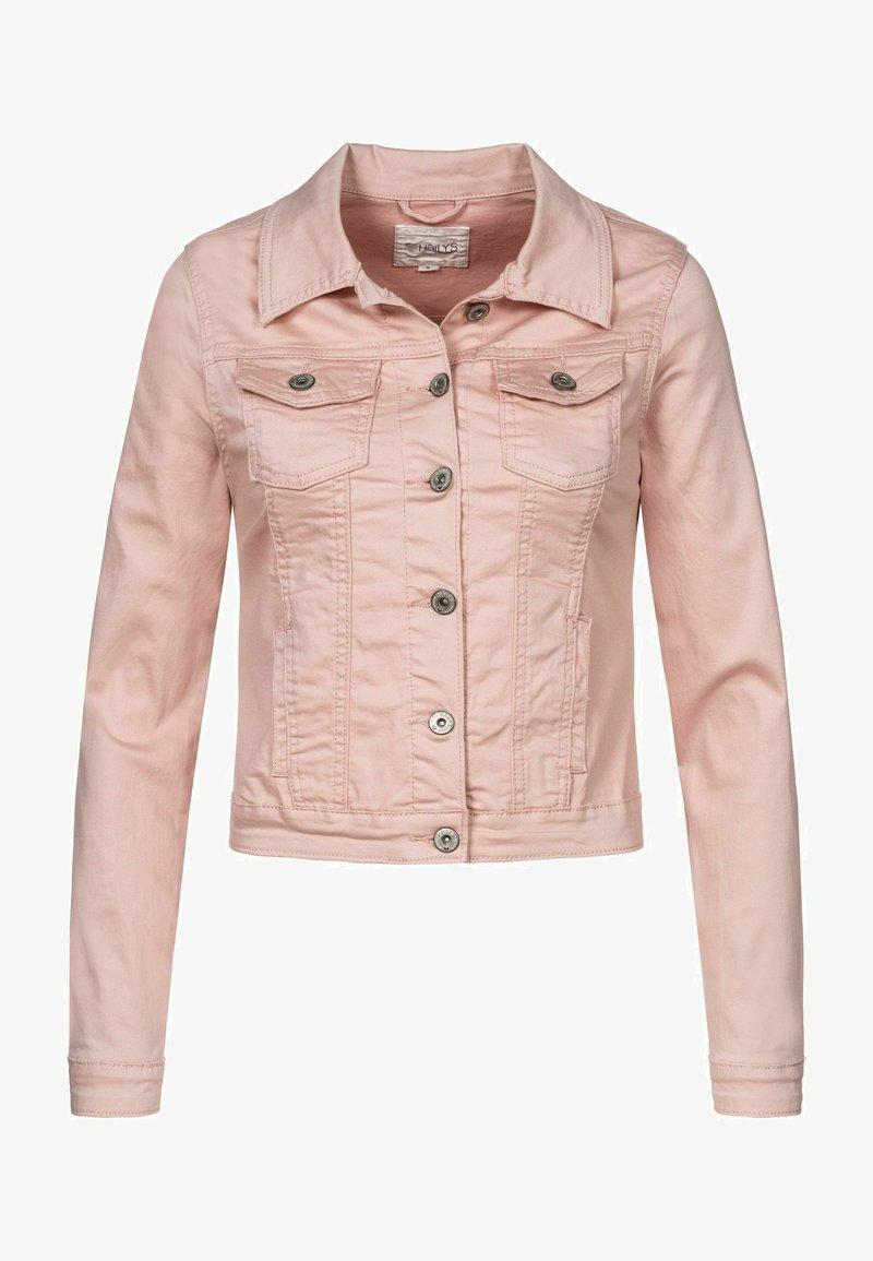 Hailys - HYSENNY - Denim jacket - rose