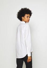 Polo Ralph Lauren - LONG SLEEVE BUTTON FRONT - Button-down blouse - white - 2