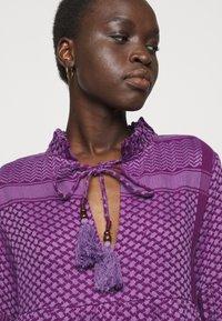 CECILIE copenhagen - SOUZARICA - Day dress - plum - 5